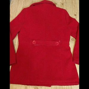 Rue21 Jackets & Coats - *SOLD* Rue21 Red winter pea coat